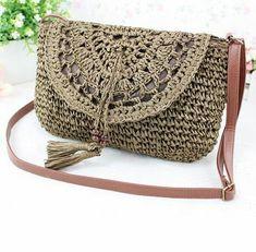 Crochet Handbags Crochet Purses Crochet Shell Stitch Purse Patterns Shoulder Bag Purses And Bags Fashion Mint Bag Handmade Bags Crochet Clutch Bags, Crochet Tote, Crochet Handbags, Crochet Purses, Diy Crochet, Mode Crochet, Crochet Shell Stitch, Crochet Designs, Crochet Patterns