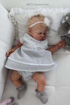 BCN ~ Baby reborn doll / Lucy by Tina Kewy ~ IIORA | The Kit ...