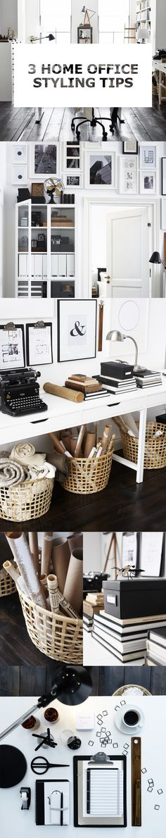 Get your work-life balance back on track with some home office styling tips.