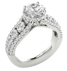 e0694c3e5eb Details about Round Diamond I1 G 2.55 Ct Solitaire Anniversary Ring Prong  Set 14K Yellow Gold