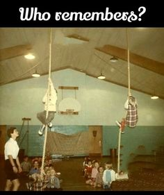 Gym fitness exam was one of the best and worst times of my life. 1970s Childhood, My Childhood Memories, Great Memories, School Memories, School Days, Vintage School, I Remember When, The Good Old Days, Retro