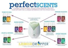 Essential Oil Diffuser Recipes..visit www.amanda.vibrantscents.com
