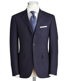 Canali - Kei Tonal Check Suit - 3 Buttons