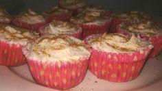 Cupcakes peaches & cream