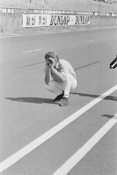 Steve McQueen at Le Mans 1970