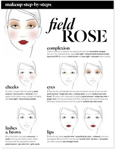 Aveda Autumn / Winter 2013 | Heart Lands Collection | Field Rose Make-up | Step-by-Step