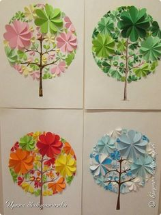 Paper circle christmas trees Circle paper crafts Circle paper crafts for kıds Circle paper crafts animals Circle paper crafts preschool Diy Paper, Paper Art, Paper Crafts, Diy For Kids, Crafts For Kids, Diy And Crafts, Arts And Crafts, Art N Craft, Art Activities