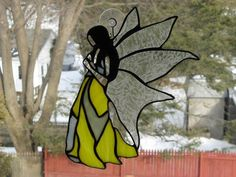 One Fairy or Angel in Sparkling Stained Glass. Starting at $45 on Tophatter.com!