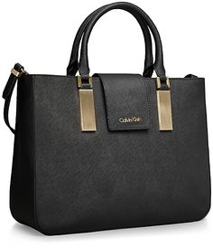 Scarlett Textured Leather Triple Compartment Tote Bag