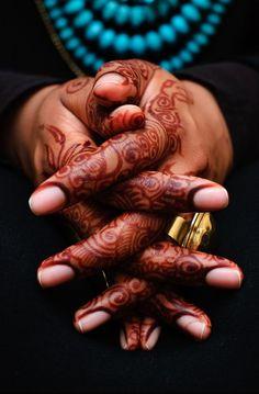 henna, mehndi, middle east, islamic art, arab
