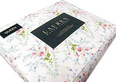 Ralph Lauren 4 Piece Double Queen Sheet Set Pink Blue Green Floral White French Country Style RALPH LAUREN http://www.amazon.com/dp/B012OL8ANQ/ref=cm_sw_r_pi_dp_VdSUvb1GH3EY7