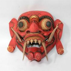balinese demon mask - Google Search