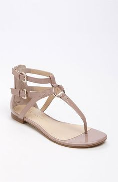 Enzo Angiolini 'Teddy' Sandal (Special Purchase) available at Nordstrom. these are cute but the straps on the ankles may go up too high?