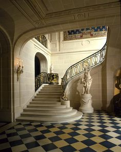 The Musée Nissim de Camondo My Home Design, Modern House Design, Home Interior Design, Luxury Staircase, Staircase Design, Interior Exterior, Interior Architecture, Marquise, Elegant Homes