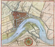 Map of Rotterdam by Gemeentearchief Rotterdam, via Flickr