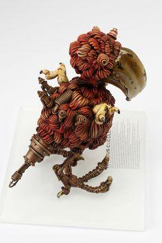 Dodo (Raphus cucullatus)ドードー  steampunk
