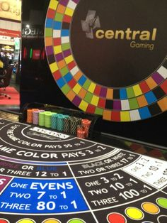 Central Gaming  #colors