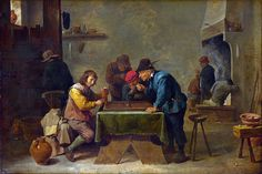 David Teniers the Younger - Backgammon Players [c.1640-45]   Flickr - Photo Sharing!