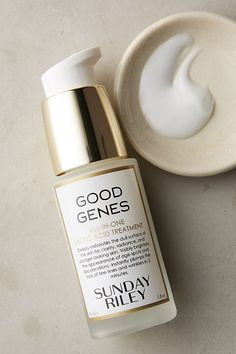 Sunday Riley Good Genes All-In-One Lactic Acid Treatment, 1 oz. Sunday Riley Good Genes All-In-One Lactic Acid Treatment, 1 oz. Younger Skin, Younger Looking Skin, Skin Firming, Skin Brightening, Sunday Riley, Good Genes, Lactic Acid, In Cosmetics, 1 Oz