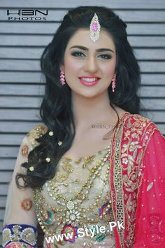 Sara Khan's Bridal Photoshoot (9) | Style.Pk