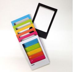 Colorful Instax Mini Magnetic Frame Set