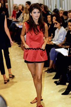 Prada Spring 1992 Ready-to-Wear Fashion Show - Helena Christensen