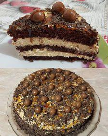 ΜΑΓΕΙΡΙΚΗ ΚΑΙ ΣΥΝΤΑΓΕΣ: Καραμέλα -σοκολάτα -τούρτα !!!! Cake Recipes, Dessert Recipes, Greek Recipes, Tiramisu, Caramel, Blog, Deserts, Lemon, Food And Drink