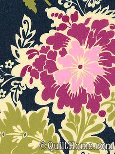 "Secret Garden Laminates LD5234-MIDN Laminate Fabric by Sandi Henderson, 55"", $18/yd"