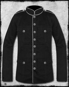 SDL Raven Military Jacket * Steampunk * Emo * Size Medium * RRP £75 | eBay