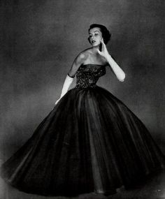 Ball Gown By Madame Carven - 1951