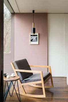 """Sulking Room Pink by Farrow & Ball. Sulking Room Pink is evocative of the colours often used in boudoirs, a room named after the French """"bouder"""" - to sulk. Bedroom Color Schemes, Bedroom Colors, Good Living Room Colors, Pink Living Room Paint, Mauve Living Room, Bauhaus Style, Pink Bedrooms, Pink Bedroom Walls, Cottage Bedrooms"""