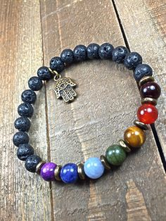 $20 Chakra Bracelet, Meditation Bracelet, Energy, Balance, Rainbow, Yoga, Mala, Jewelry