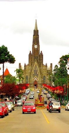 Amérique du Sud, Brésil, Rio Grande Do Sul, Canela, Catedral de Pedra