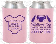 Baby Shower Favors Meaning ~ Ready set baby personalized koozies baby shower by