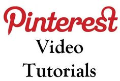 Pinterest Tutorials Cover #pinterest #socialmedia    http://pinterest.com/500socialmedia/pinterest-tutorials/ #pinterest #marketing #socialmedia #contest #competition #win #tutorial Pinterest Marketing Tips Let's talk about a true social media driven #website model for your brand! Imagine channel updates for your site - exclusive methodology by TheBarnYardGroup.com
