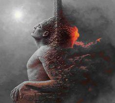 Comment un malvoyant voit le monde par George Redhawk GIF  2Tout2Rien
