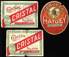 Vintage Cuba Beer Labels