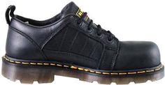 Doc Martens Dr. Marten's Defender Black Oxford Style Men Shoes R12751001