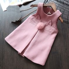 51 Super Ideas For Party Outfit Holiday Products Cute Kids Fashion, Cute Outfits For Kids, Girl Fashion, Little Dresses, Little Girl Dresses, Toddler Vest, Vest Outfits, Baby Kind, Sweet Dress