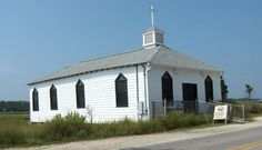 Chapel in Pawleys Island, SC. If I had to get married in a church, this would be the only one I would want.