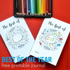 Start a new family tradition for New Year's Eve and make this Best of the Yearfree printable journal together with kids! Filled with writing and drawing prompts, it captures their best memories and prompts them to make New Year's resolutions.