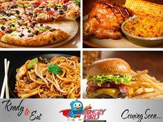 #ComingSoon Online Restaurant, Chicken Wings, Bird, Meat, Birds, Buffalo Wings