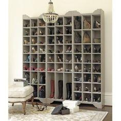 Идеальный шкаф для обуви. С таким шкафом в доме будет порядок и вы вегда будете знать, где ваша обувь