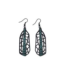 Earrings modern contemporary jewelry design FREE by DecoUno