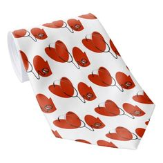 Hearts and Stethoscope T-shirts and Gifts Tie