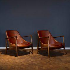 Pair ofIb Kofod-Larsen Rosewood Elizabeth Chairs for Christensen and Larsen image 2