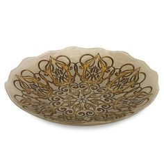 IMAX Talbot Glass Bowl - 83107. IMAX Talbot Glass Bowl - 83107 Perfect for any occasion, the Talbot glass serving bowl is food safe and can be used to serve a favorite dish or to display a variety of materials. Product Specifications Dimensions 15.75 D x .. . See More Bowls at http://www.ourgreatshop.com/Bowls-C740.aspx