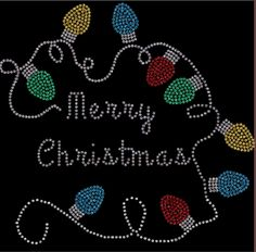 Merry Christmas Lights  Rhinestone Shirt!!! Rhinestone Shirts! Regular cut t-shirt sizes small- extra large $25.00, On a ladies cut t-shirt $30.00, on a long sleeve tee shirt or sweat shirt $35.00. Add an additional $5.00 for plus sizes. Shipping $5.00 first item, additional items $2.50 www.facebook.com/beachbumzbazaars