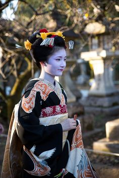 Naoai san, newest Kamishichiken maiko on the day of her debut お見世出し! ~上七軒 尚あい~…