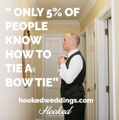 Do you know how to tie a #bowtie? Find out in this week's episode